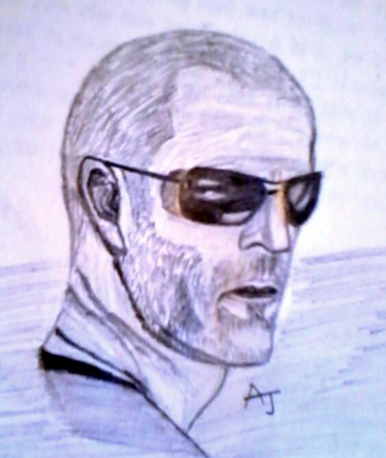 Jason Statham by AvinashJhaAnshu